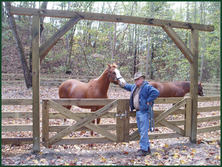 Deer Run Properties has a large corral.