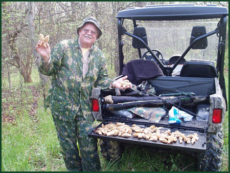 Deer Run Properties has over 500 acres for mushroom hunting.